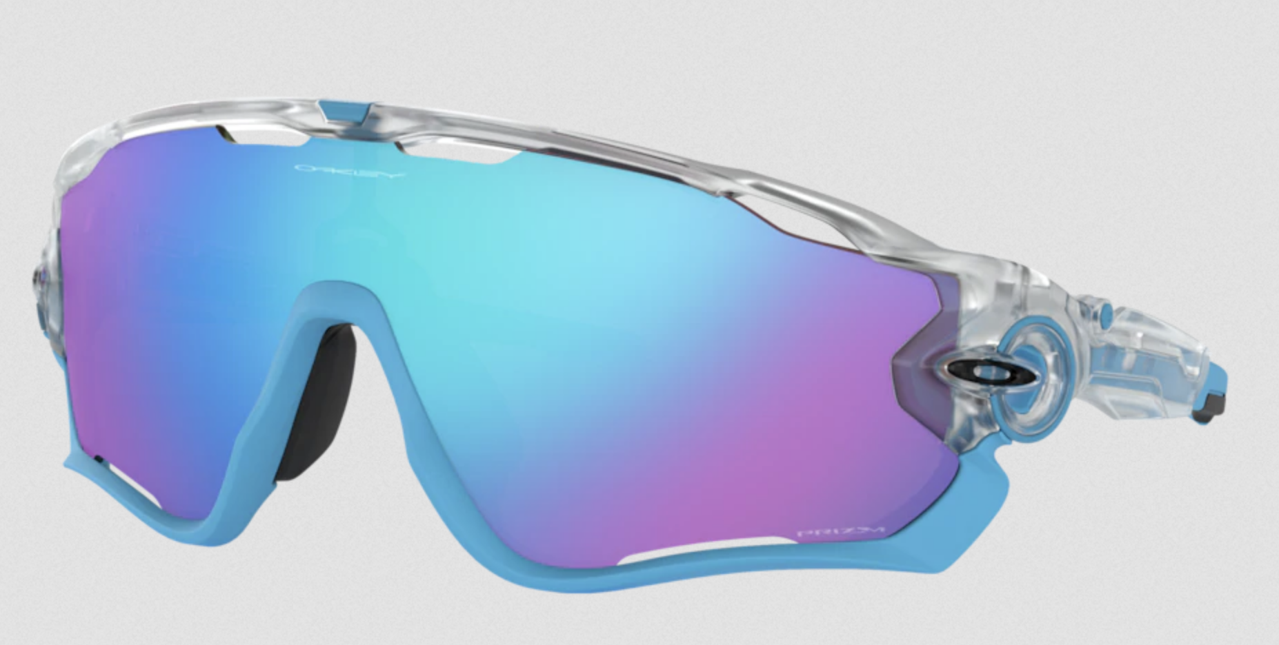 Oakley Jawbreaker™ Origins Collection cykelbriller - Polished white-prizm ruby | cykelbrille