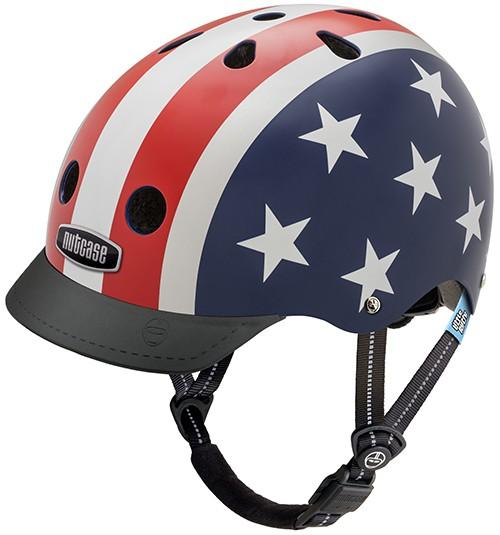 Nutcase - Stars & Stripes | cykelhjelm