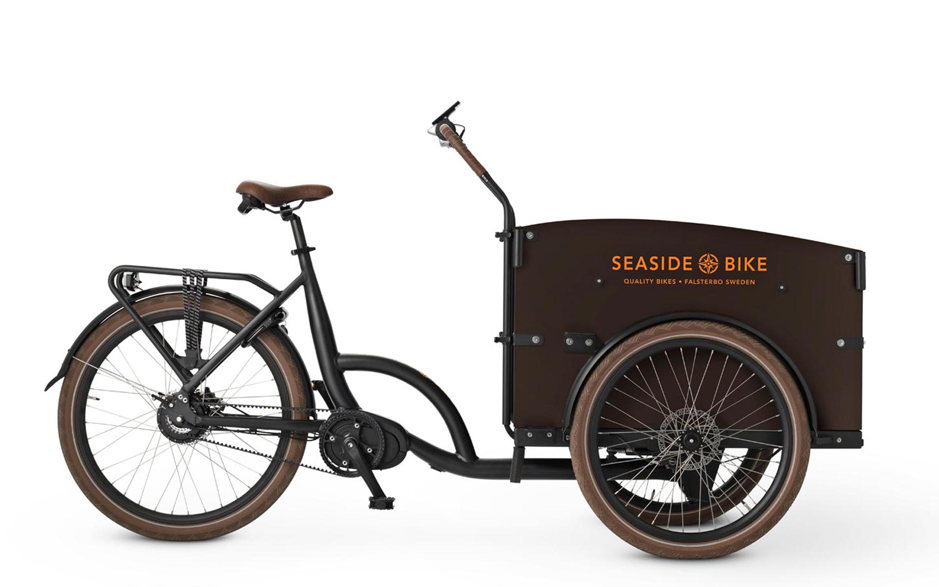 Seaside ladcykel brun